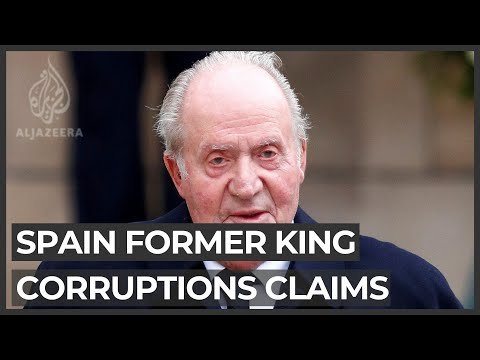 Spain's former king to leave the country amid corruption claims