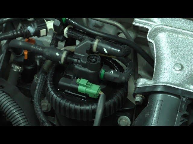 Фото к видео: Техническое обслуживание Пежо 607 с мотором 2.2 Hdi (4HX)