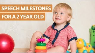 Speech Milestones for a 2 Year Old