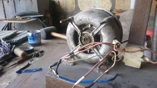 Как подключить двигатель от стиральной машины.