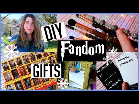 LAST MINUTE Diy Fandom gifts!!