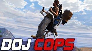 Dept. of Justice Cops #630 - Stolen Jetpack Flights