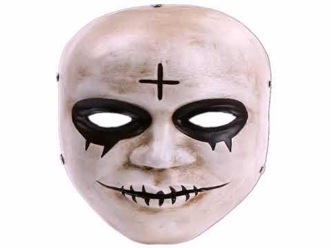 маски на хэллоуин своими руками рисовать на лице