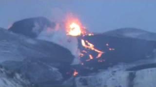 Eyjafjallajökull  Volkano Eruption in Iceland 03.04.10