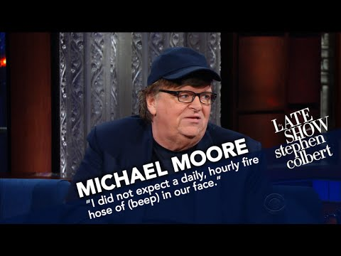Michael Moore Calls For An 'Army Of Satire' Against Trump