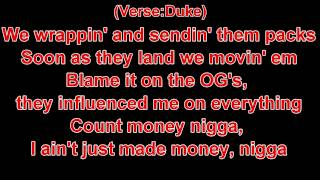 Young Thug Ft Duke - With That (Lyrics)