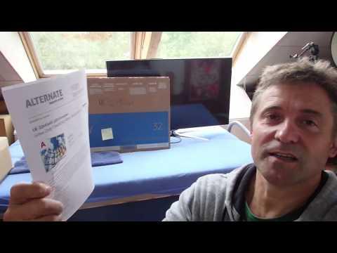 Samsung Fernseher UE32 M56** unbox start UE-32M5649 LED Fernseher