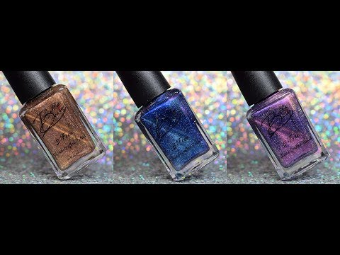 BELLA BOSIO | GALACTIC CAT EYE| LIVE SWATCHES