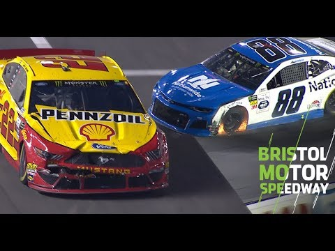 Bowman has trouble, collects Logano at Bristol