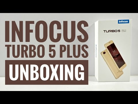 InFocus Turbo 5 Plus Unboxing and quick Hands on Review