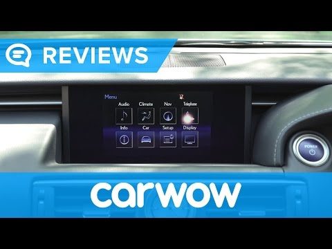 Lexus RC 2017 Coupe infotainment and interior review | Mat Watson Reviews