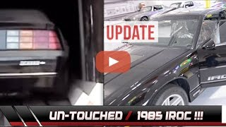 Brand New 1985 IROC Z28 Discovered In Truck Trailer: Where Is It Now?