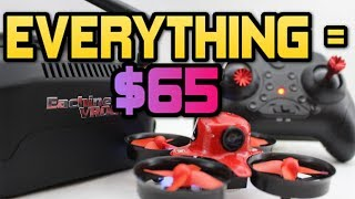 ABSOLUTE BEST BEGINNER FPV DRONE PACKAGE of 2017! Eachine E013 Micro review