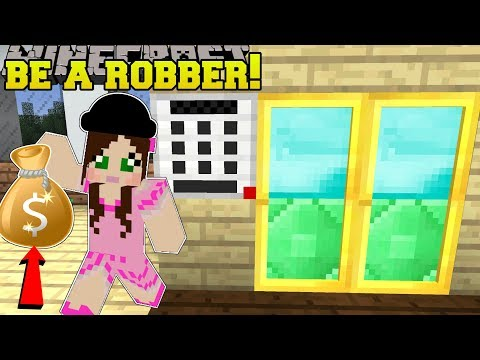 , title : 'Minecraft: WE BECOME ROBBERS!! - ROBBERY TRAINING SCHOOL - Modded Map'