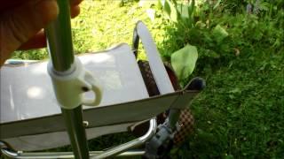 Крепление для зонта к рыболовному креслу