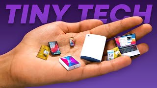 I bought the SMALLEST Tech in the world