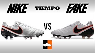 Fake vs. Real Tiempo - How to avoid buying a Replica Nike Legend 6