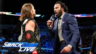 Download Video AJ Styles interrupts Jinder Mahal's challenge to Brock Lesnar: SmackDown LIVE, Oct. 17, 2017 MP3 3GP MP4