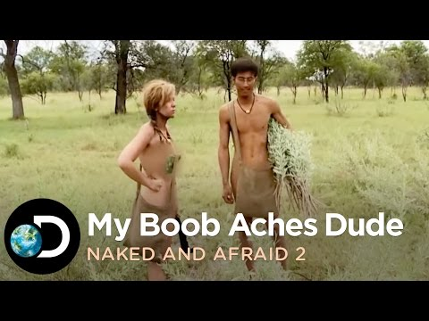 naked and afraid bear boobs
