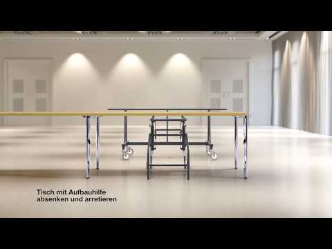 Thonet - Tischsystem A 1700 Evo - Aufbauhilfe