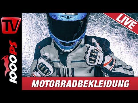 Motorradbekleidung - LIVE - Protektoren, Sicherheit, Funktion, Passform