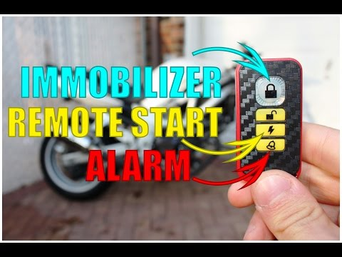 How to Install a Motorcycle Alarm + Remote Starter + Immobilizer | Complete Guide