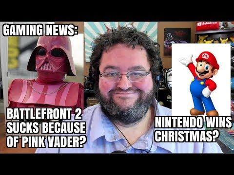 PINK Darth Vader? No More Single Player Games? Nintendo Dominates Black Friday!