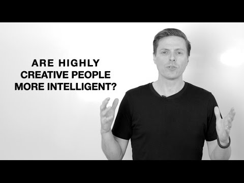 Are Highly Creative People More Intelligent?