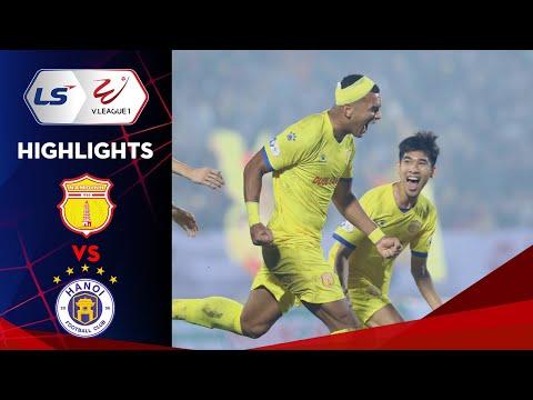 Highlights | Nam Định FC – Hà Nội FC | Mãn nhãn Thiên Trường ngày khai màn V.League 2021