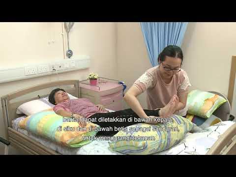 影片: Cara mencegah kerusakan jaringan kulit setempat Dekubitus