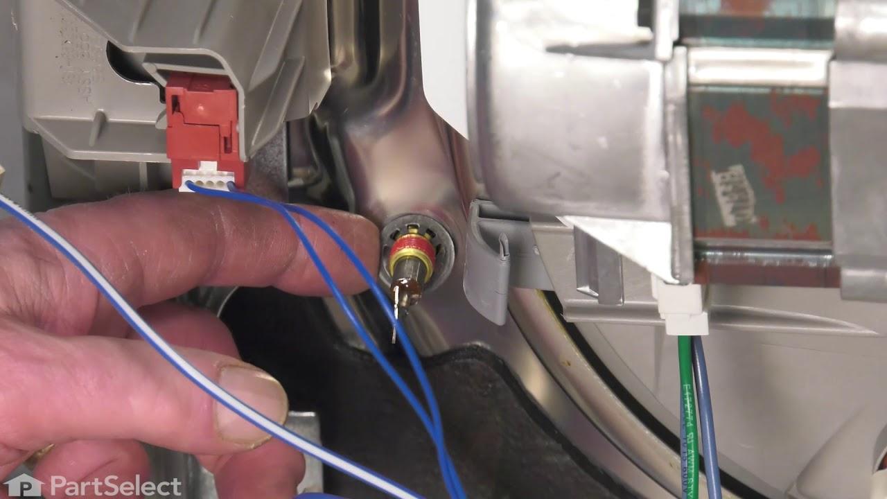 Replacing your KitchenAid Dishwasher Dishwasher Heating Element