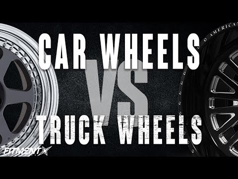 cAR wHEELS vs. tRUCK wHEELS