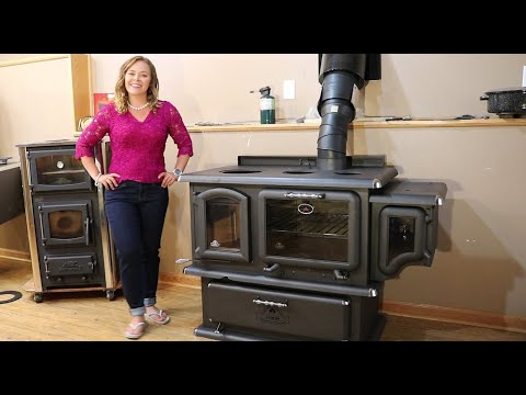 J.A. Roby Cookstoves - Chief Wood Cookstove General Overview