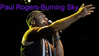 Paul Rogers - Burning Sky