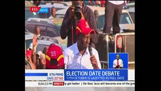 President Uhuru Kenyatta lead the Jubilee team in fresh campaigns of Kajiado County