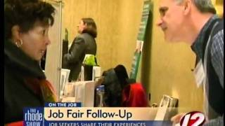 Job Seekers Share Their Experience At Career Fair