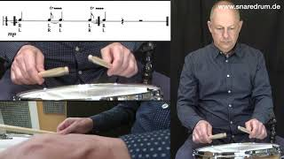 press roll - SNARE DRUM TECHNIK 4 von Jürgen Peiffer