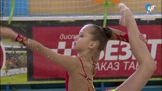 В Великом Новгороде стартовал чемпионат области по художественной гимнастике