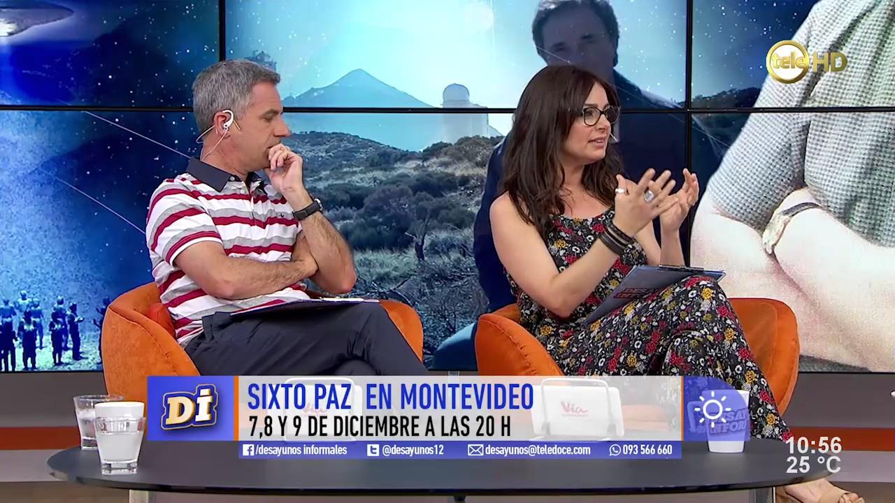El ufólogo Sixto Paz contó sus experiencias de contacto con extraterrestres
