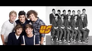 EXO VS One Direction for EMA awards voting.