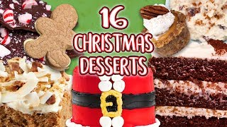 16 Christmas Desserts | Epic Recipe Compilation | Well Done