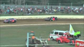 preview picture of video '16 Feb 2013 NZ Super Saloon REPECHAGE, AmPro Woodford Glen Speedway, Kaiapoi, NZ.'