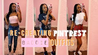 Recreating & Styling Pinterest BADDIE Outfits