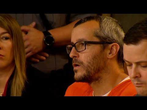 Download Tear Rolls Down Chris Watts' Cheek As He's Sentenced For Killing Wife, Kids HD Mp4 3GP Video and MP3