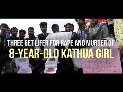 Three get lifer for rape and murder of 8-year-old Kathua girl