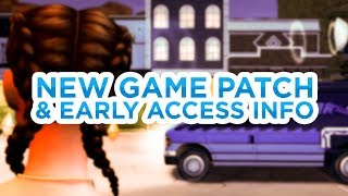 NEW GAME PATCH + EARLY ACCESS INFO // The Sims 4: News & Info