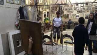 preview picture of video '► Zurkhaneh Warm up in Isfahan / Iran - ‏زور خانه‎انه‎'