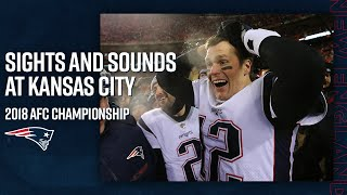 Sights & Sounds: On the sidelines during the Patriots win over the Chiefs in the AFC Championship