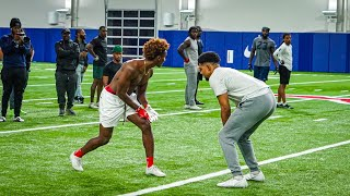 HE'S FASTER THAN TYREEK HILL! (1ON1S AGAINST D1 AND NFL PLAYERS) FT. DEZ BRYANT