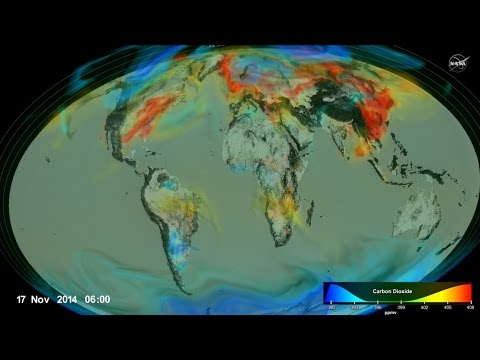 NASA: Following Carbon Dioxide Through the Atmosphere